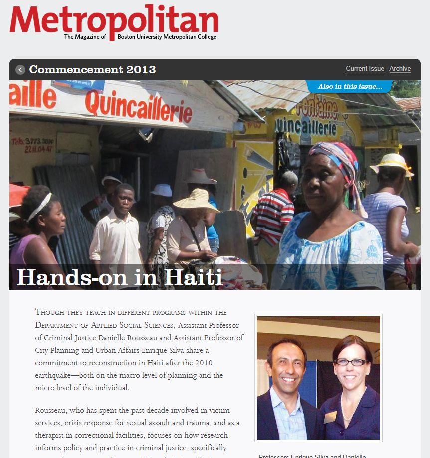 Hands on Haiti