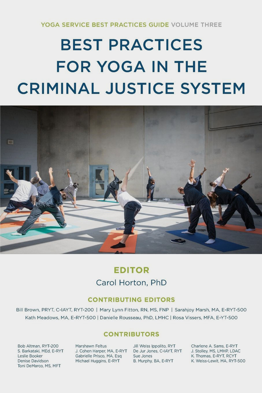 Best Practices for Yoga in the Criminal Justice System book cover